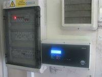 Interiér měřícího vozu MV1